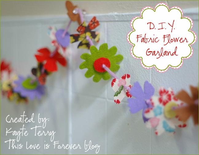 DIY-flowergarland