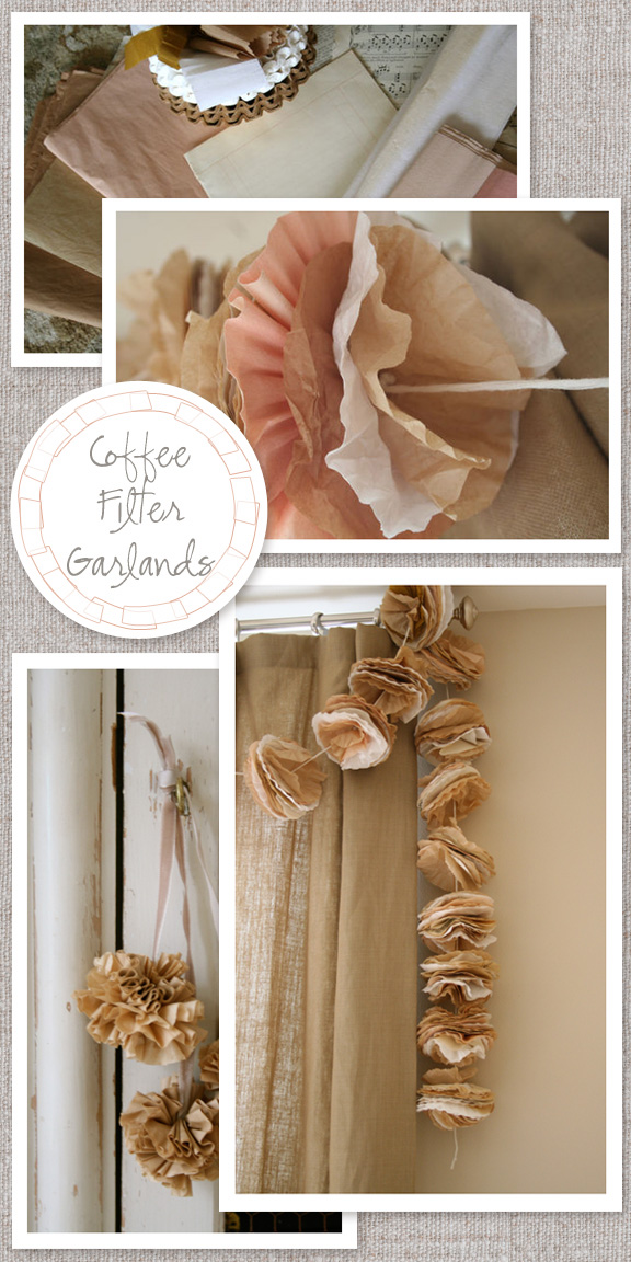 Coffee-filter-garland