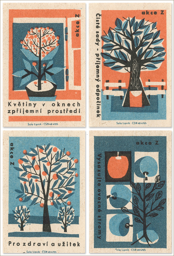 matchbox label art